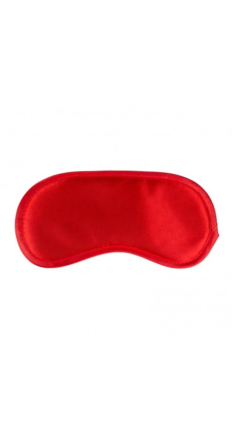 Red Satin Eye Mask