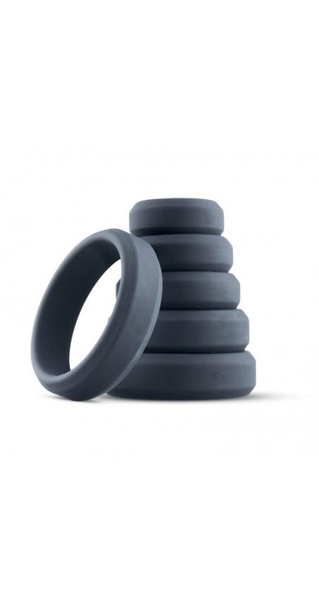 6-Piece Cock Ring Set