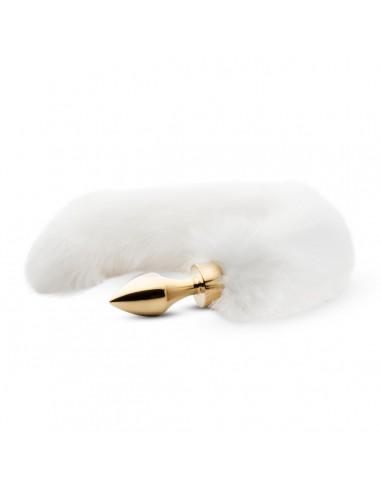 Fox Tail Plug - Guld - Small