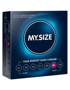 MY.SIZE Kondomer - 64 mm -...