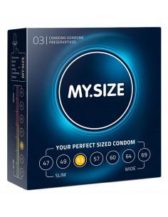 MY.SIZE kondomer - 53mm  -...