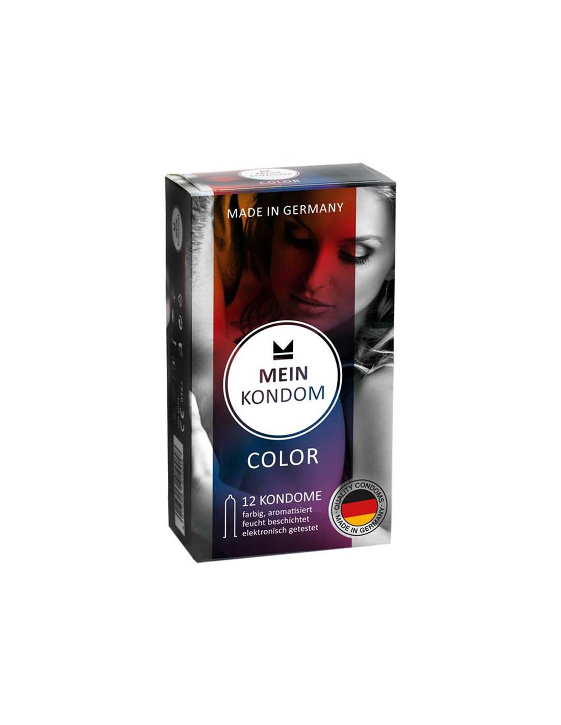Mein Kondomer i farver - 12 Stk