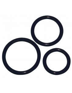 Silicone Cock Ring set 3 pcs
