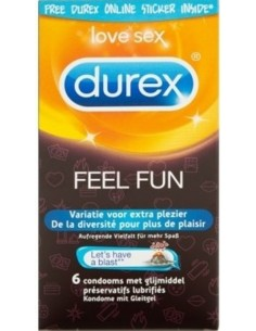 Durex Emoji Feel Fun - 6 Pieces