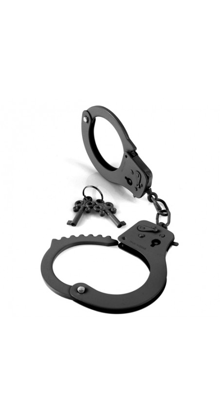 Metal Handcuffs Black