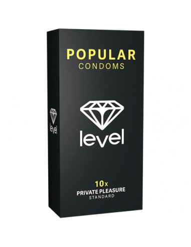 Popular Condoms - 10 stk